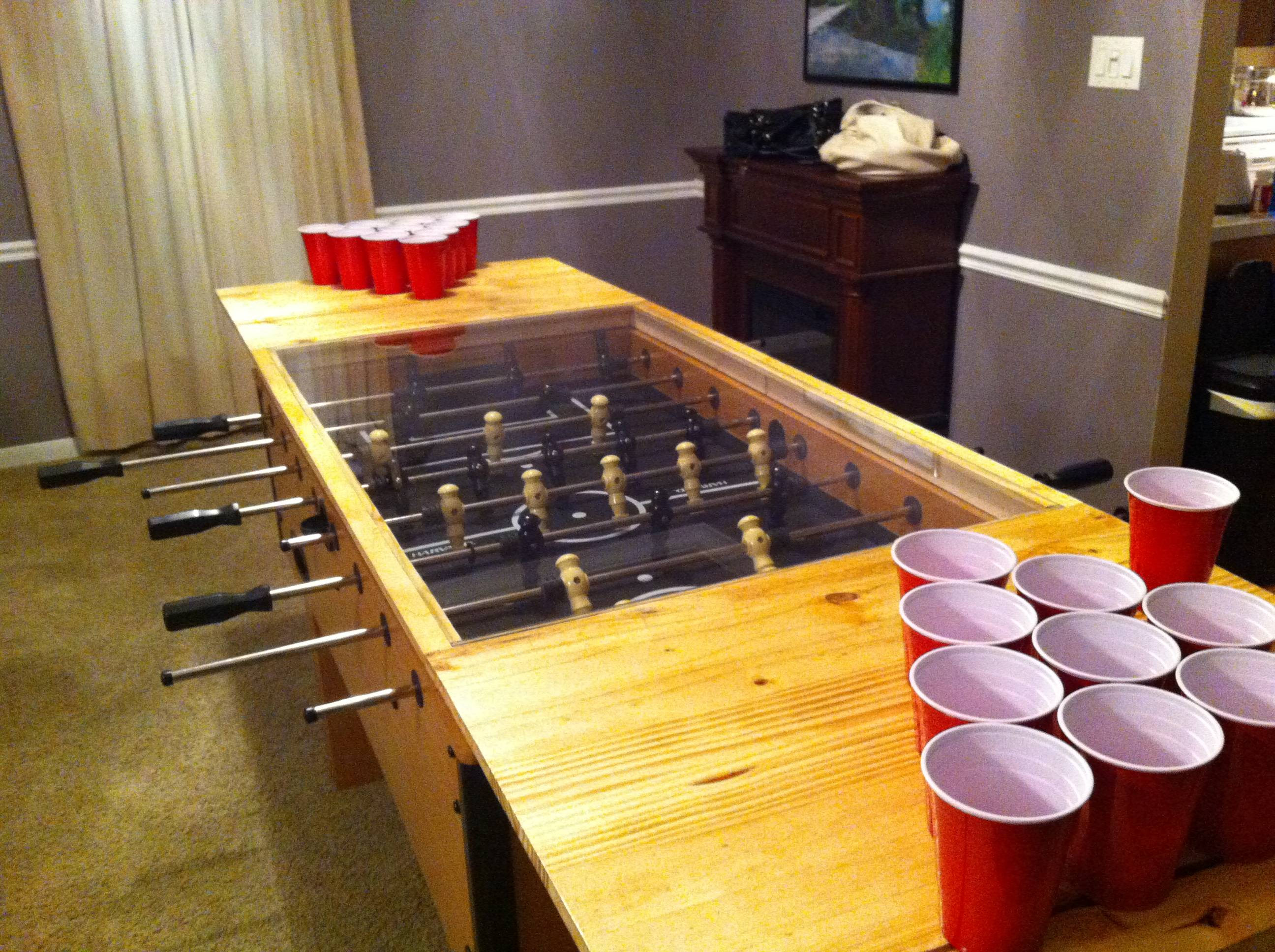 Beer pong table dimensions - Cool Beer Pong Tables Beer Pong All Stars